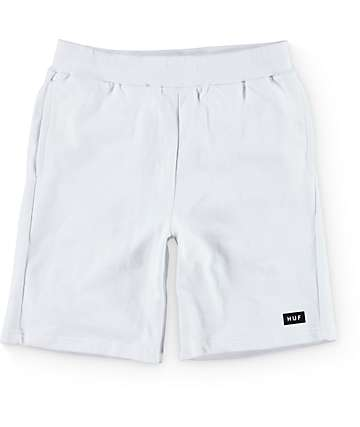 The Hundreds Owens White Fleece Shorts