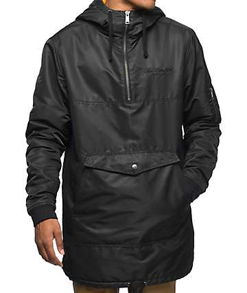 The Hundreds Peck Black Anorak Jacket