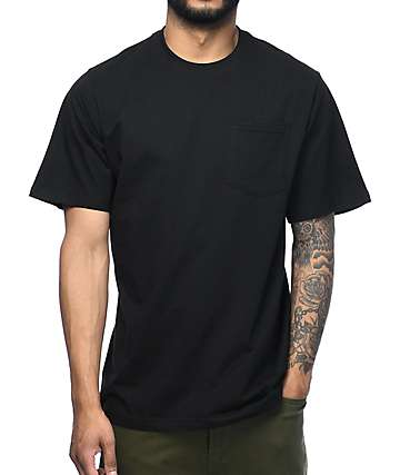 The Hundreds Perfect Pocket Black T-Shirt