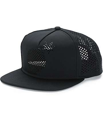 The Hundreds Perforated Solid Bomb Trucker Hat