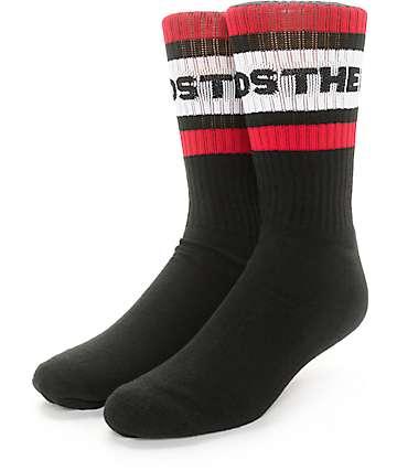 The Hundreds Physical Black Crew Socks