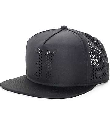 The Hundreds Pine Black Mesh Snapback Hat