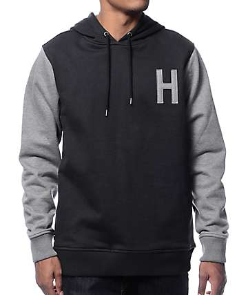 The Hundreds Quentin Pullover Black Hoodie
