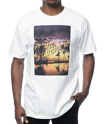The Hundreds Relax Slant White T-Shirt