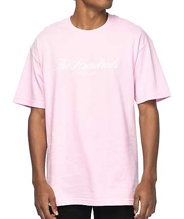 The Hundreds Rich 80 Pink T-Shirt