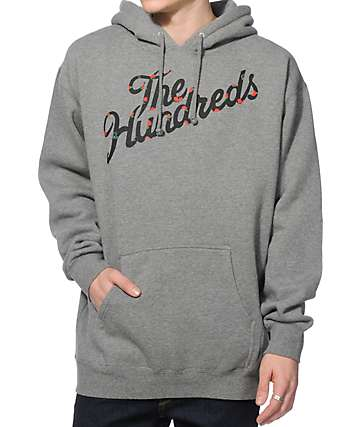 The Hundreds Rose Slant Hoodie