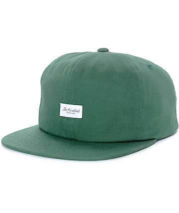 The Hundreds Script Bistro Green Snapback Hat