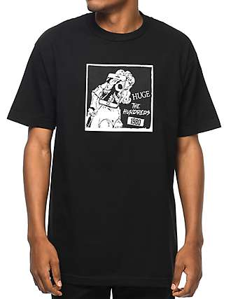 The Hundreds Selfie Black T-Shirt