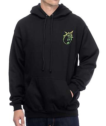 The Hundreds Simple Adam Black Hoodie