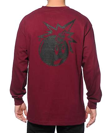 The Hundreds Simple Adam Long Sleeve T-Shirt