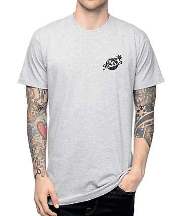 The Hundreds Slant Bomb Crest Grey T-Shirt