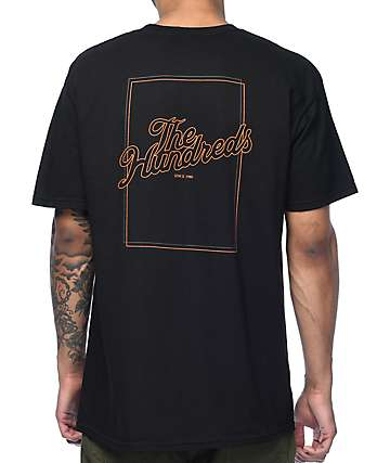 The Hundreds Slant Box Black T-Shirt