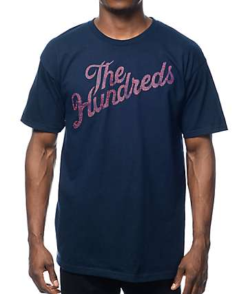 The Hundreds Slant Code Navy T-Shirt