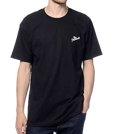The Hundreds Slant Crest Black T-Shirt