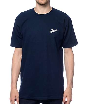 The Hundreds Slant Crest Navy T-Shirt