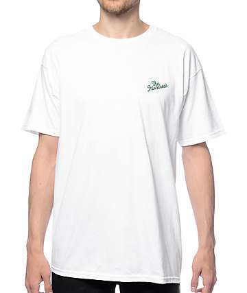 The Hundreds Slant Crest White T-Shirt