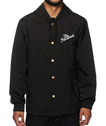 The Hundreds Slant Logo Coach Jacket
