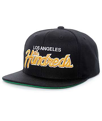 The Hundreds Team Two gorra snapback en negro