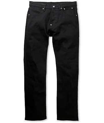 The Hundreds Temple Black Slim Fit Jeans