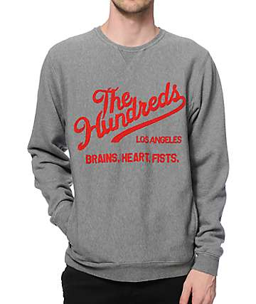 The Hundreds Tradition Crew Neck Sweatshirt