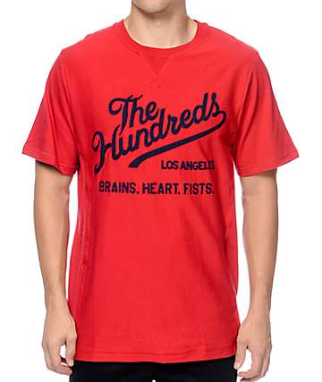 The Hundreds Tradition Red T-Shirt
