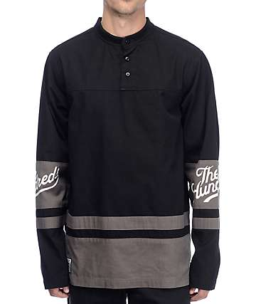 The Hundreds Wayne jersey hockey en negro