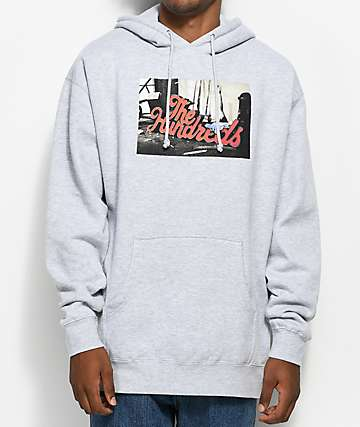 The Hundreds Wearhouse Grey Hoodie
