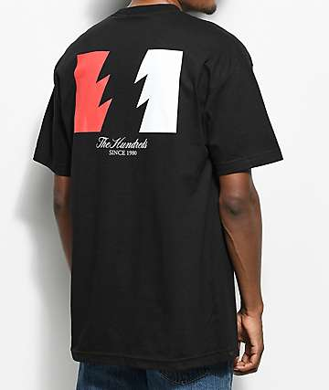 The Hundreds Wildfire Black T-Shirt