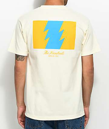 The Hundreds Wildfire Cream T-Shirt