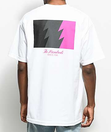 The Hundreds Wildfire White T-Shirt