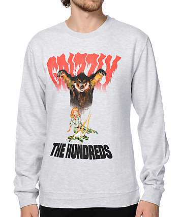 The Hundreds x Grizzly Bear Woods Crew Neck Sweatshirt