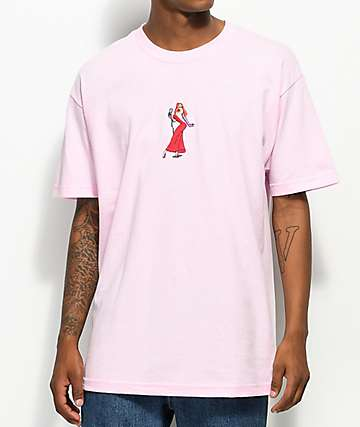 The Hundreds x Roger Rabbit Jessica Pink T-Shirt