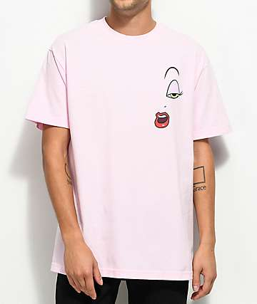 The Hundreds x Roger Rabbit Make Up Pink T-Shirt