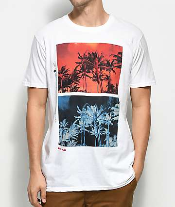 The Lost & Found Trade Winds camiseta blanca