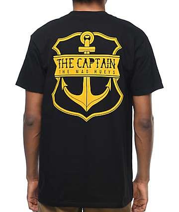 The Mad Hueys Captain camiseta negra