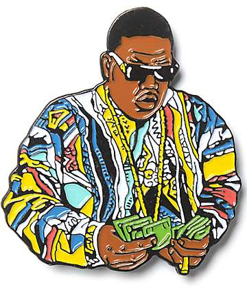 The Notorious B.I.G. Biggie Countin Pin