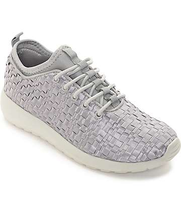 The People's Movement Cardiff Grey Webbed Womens Shoes