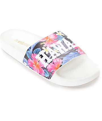 The White Brand Hawaii Slide Women's Sandals
