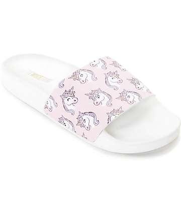 The White Brand Unicorn sandalias para mujeres