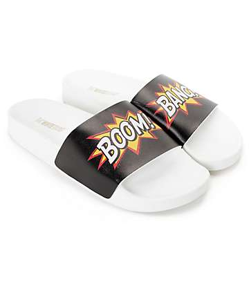 TheWhiteBrand Boom Bang Slide Women's Sandals