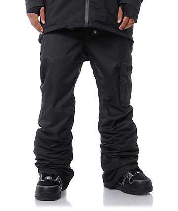 ThirtyTwo Basement Black 8K Snowboard Pants
