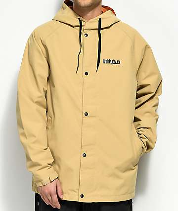 ThirtyTwo Grasser Tan 10K Snowboard Jacket