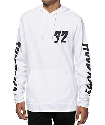 Thirtytwo Attack Of The Rat Long Sleeve Hooded Shirt