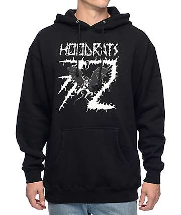 Thirtytwo Bat Rat Black Hoodie