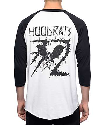 Thirtytwo Bat Rat White Baseball T-Shirt