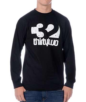 Thirtytwo Combo Fill Black Long Sleeve