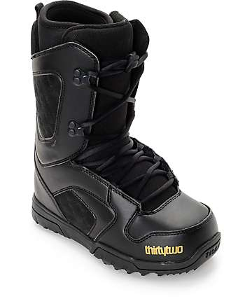 Thirtytwo Exit Black Womens Snowboard Boots