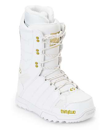 Thirtytwo Exit White Women's Snowboard Boots