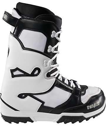 Thirtytwo Exus Black & White Snowboard Boots