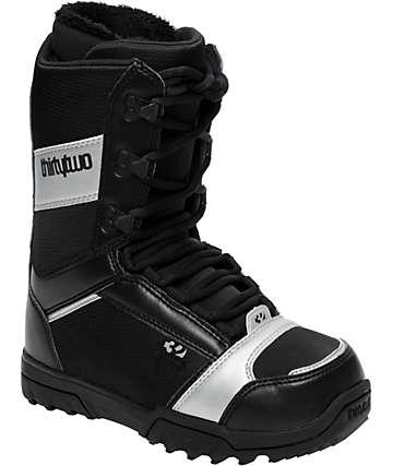Thirtytwo Exus Black Women's Snowboard Boots